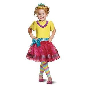 NEW Fancy Nancy Costume Dress 2T 3T-4T Disney Jr